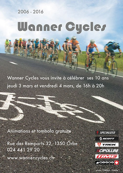 Wanner-Cycles fête ses 10 ans