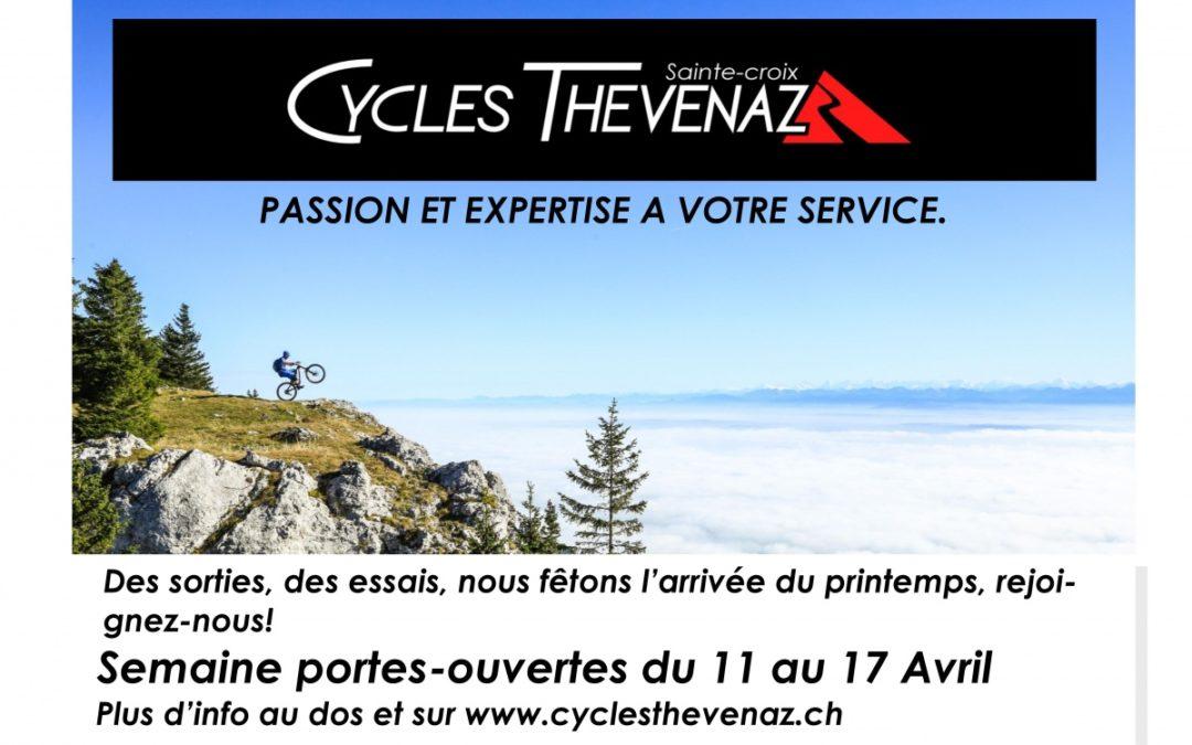 Inauguration de Thévenaz Cycle