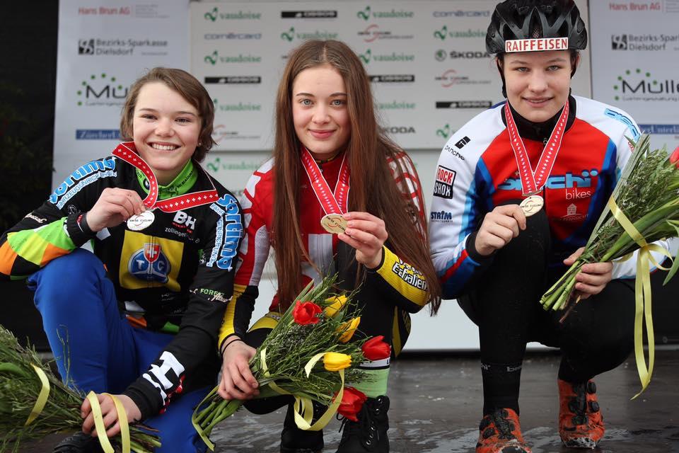 Double titre de champion de suisse pour la famille Rouiller!
