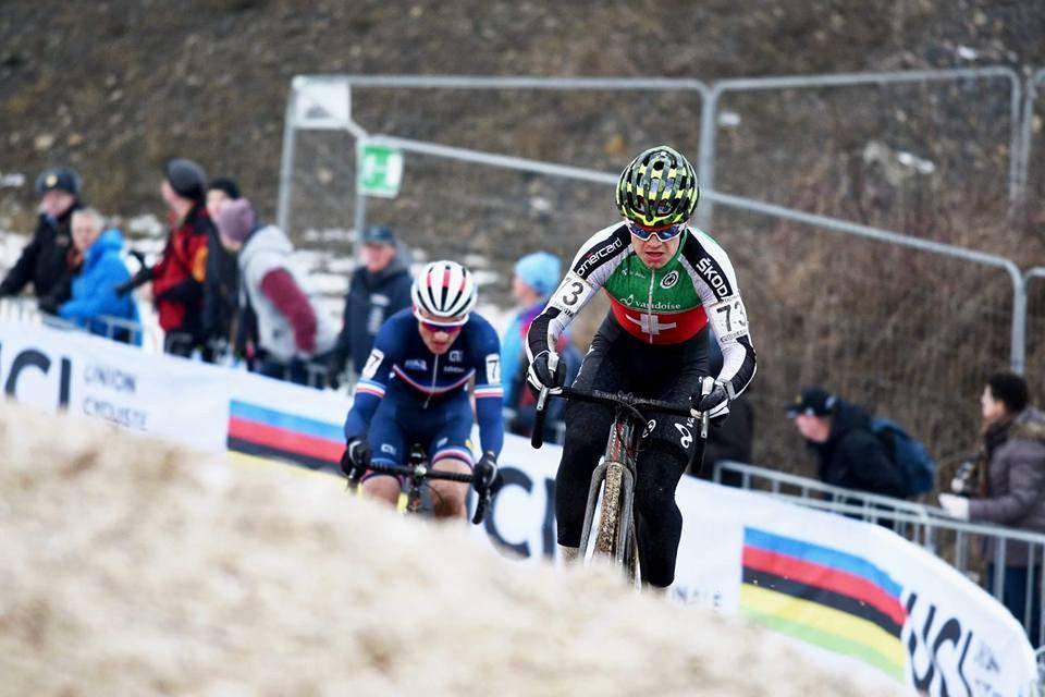 Loris Rouiller, 4ème des Mondiaux de cyclocross.